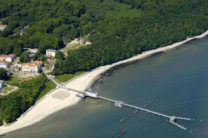 Luftbilder luftaufnahmen von sellin auf r gen for Urlaub in sellin